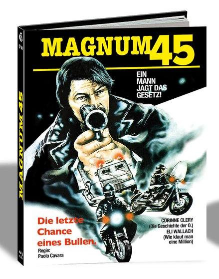 Magnum 45 (Plot of Fear) - Limited Mediabook Edition - Cover C [Blu-ray]