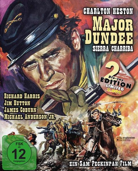 Major Dundee - Sierra Charriba - Limited Mediabook Edition [Blu-ray]