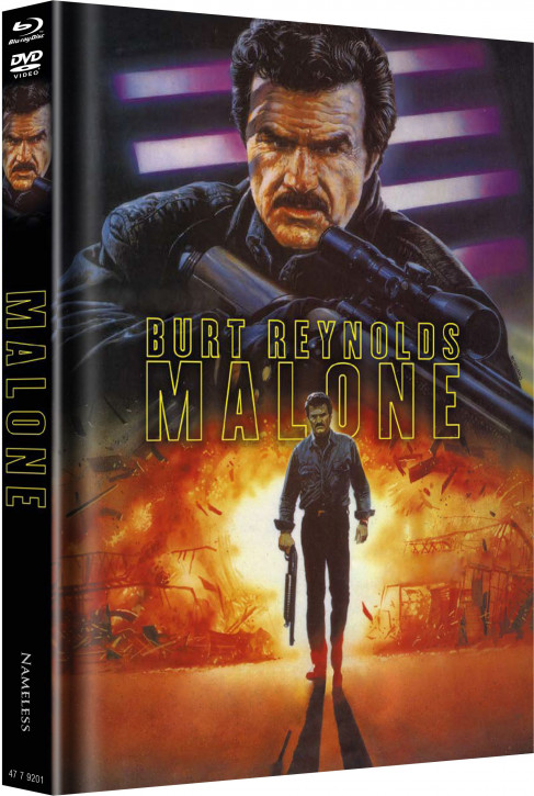Malone - Limited Mediabook Edition - Cover A [Blu-ray+DVD]