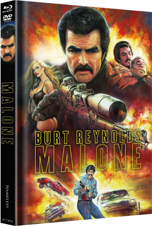 Malone - Limited Mediabook Edition - Cover B [Blu-ray+DVD]