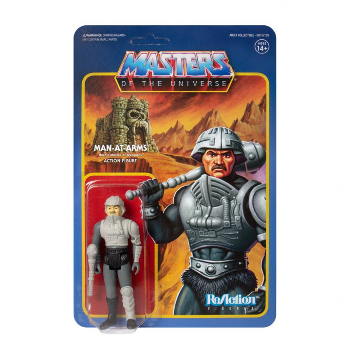 Masters of the Universe: ReAction Actionfigur - Man-at-Arms