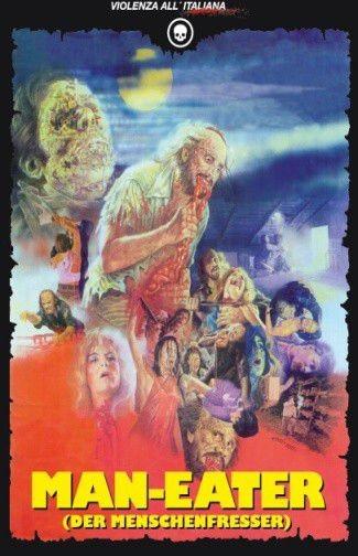 ManEater – Der Menschenfresser - Mediabook - Cover D [Blu-ray+DVD+CD]