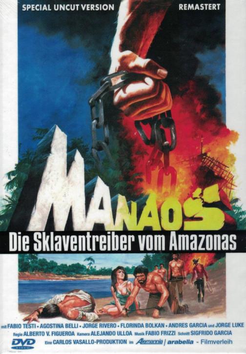 Manaos - Die Sklaventreiber vom Amazonas - kleine Hartbox - Cover A [DVD]
