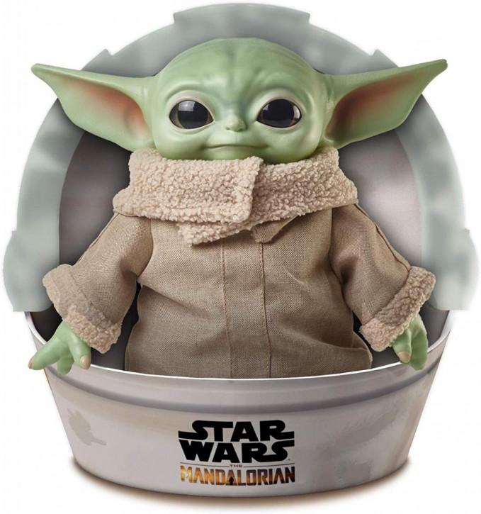 Star Wars Mandalorian The Child Baby Yoda Plüsch Figur 28 cm