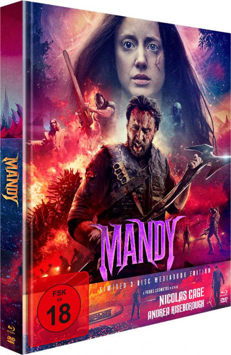 Mandy - Limited Mediabook Edition - Cover B [Blu-ray+DVD]