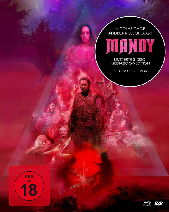 Mandy - Limited Mediabook Edition [Blu-ray+DVD]
