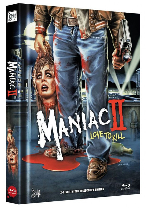 Maniac 2 - Love to Kill - Limited Collector's Edition - Cover A [Blu-ray+DVD]