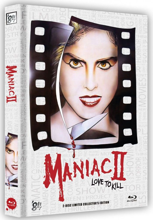 Maniac 2 - Love to Kill - Limited Collector's Edition - Cover C [Blu-ray+DVD]