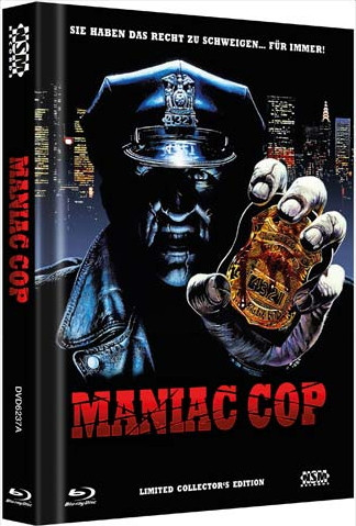 Maniac Cop - Limited Collector's Edition - Cover A [Blu-ray+DVD]