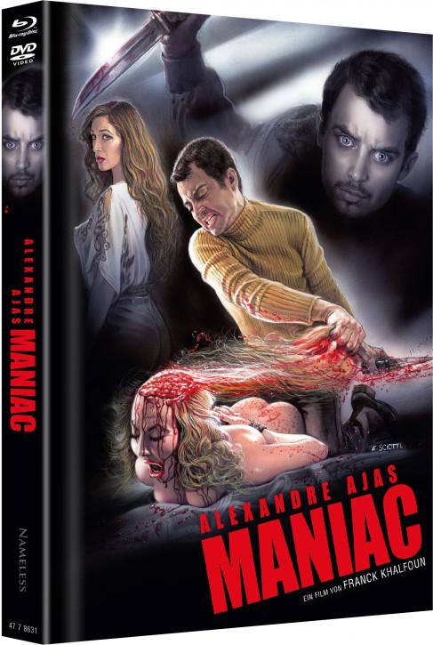 Maniac (2012) - Limited Mediabook - Cover C [Blu-ray+DVD]