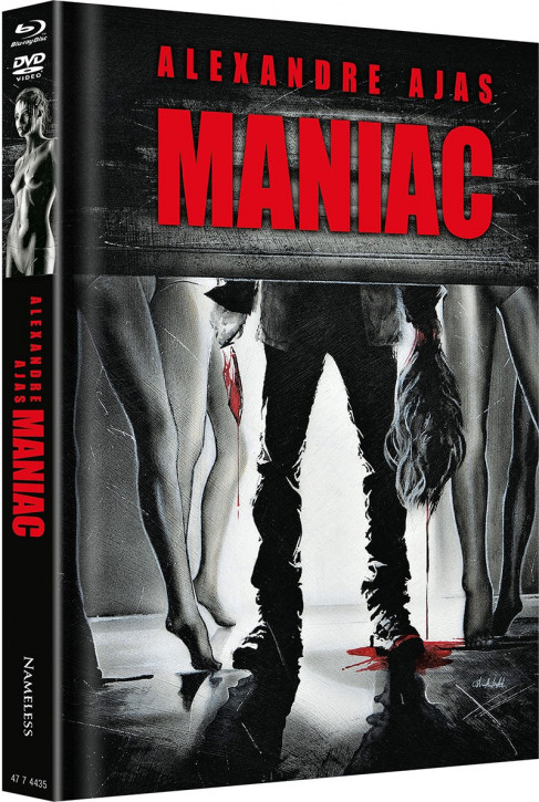 Maniac (2012) - Limited Mediabook - Cover D [Blu-ray+DVD]