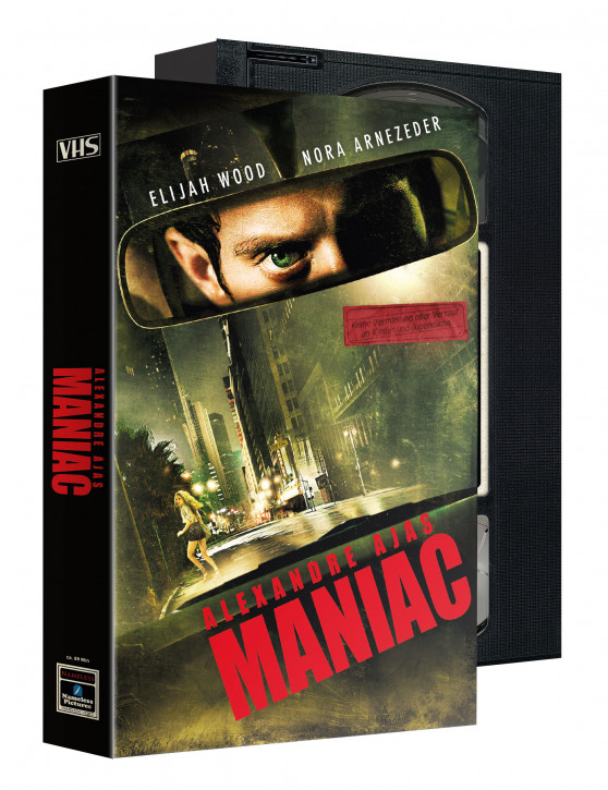 Maniac (2012) - Limited VHS Edition [Blu-ray+DVD]