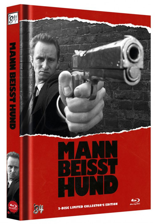 Mann beisst Hund - Limited Collector's Edition - Cover B [Blu-ray+DVD]