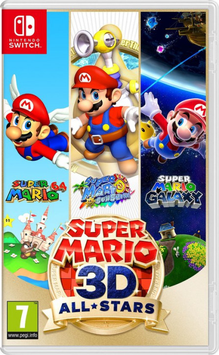 Super Mario 3D All-Stars (IT-Import) [Nintendo Switch]