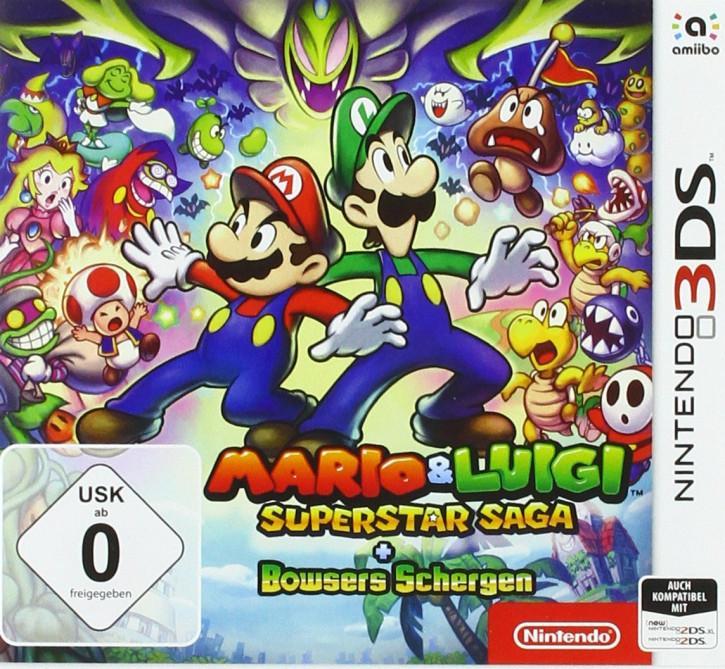 Mario & Luigi: Superstar Saga + Bowsers Schergen [N3DS]