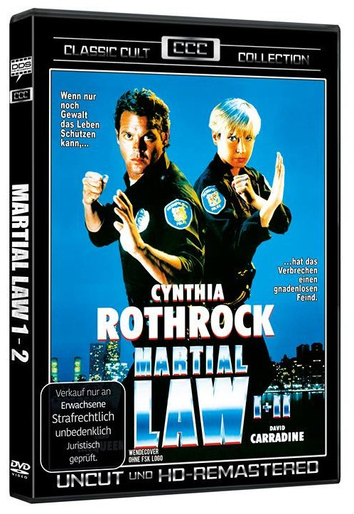 Martial Law 1+2 - Classic Cult Edition [DVD]