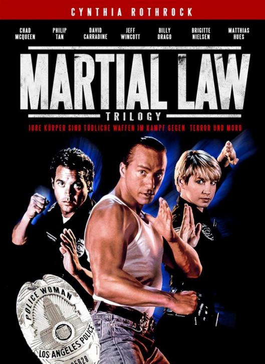 Martial Law 1-3 Trilogy - Uncut - Mediabook [Blu-ray+DVD]