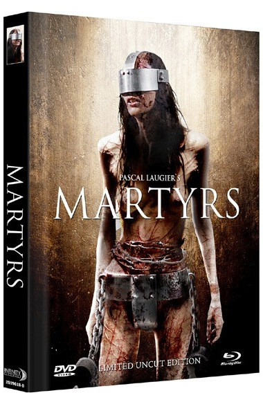 Martyrs (2008) - Limited Mediabook Edition - Cover B [Blu-ray+DVD]