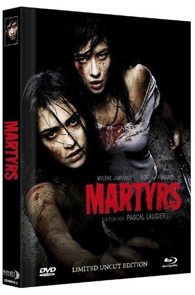 Martyrs (2008) - Limited Mediabook Edition - Cover C [Blu-ray+DVD]