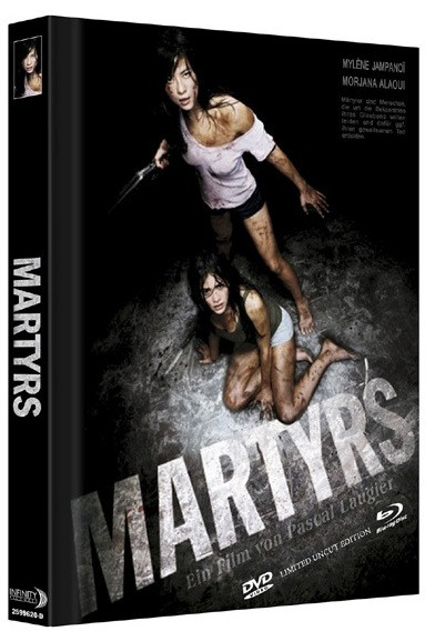 Martyrs (2008) - Limited Mediabook Edition - Cover D [Blu-ray+DVD]