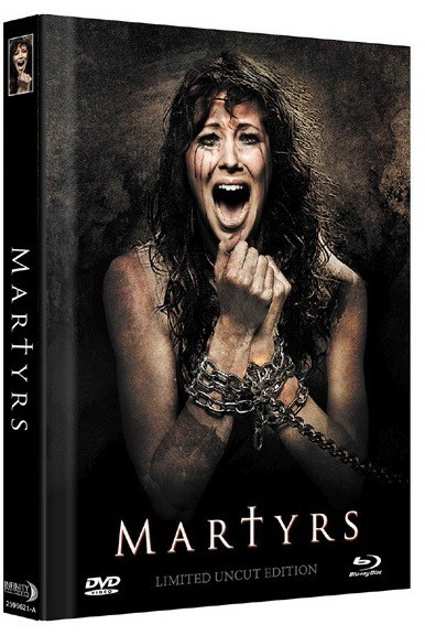 Martyrs (2015) - Limited Mediabook Edition - Cover A [Blu-ray+DVD]