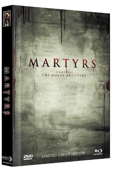 Martyrs (2015) - Limited Mediabook Edition - Cover B [Blu-ray+DVD]