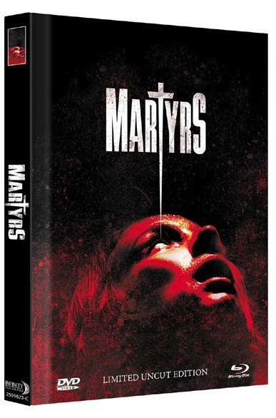 Martyrs (2015) - Limited Mediabook Edition - Cover C [Blu-ray+DVD]