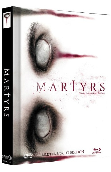 Martyrs (2015) - Limited Mediabook Edition - Cover D [Blu-ray+DVD]