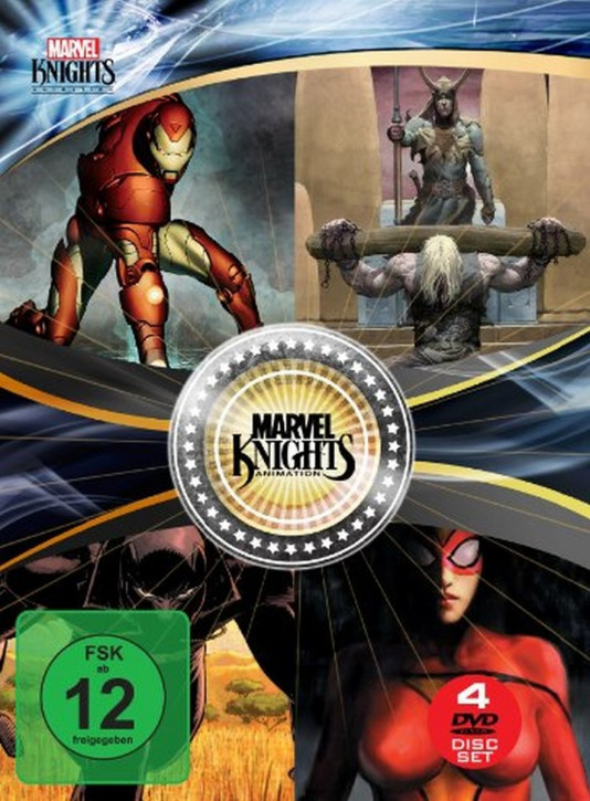 Marvel Knights Box (OmU) [DVD]