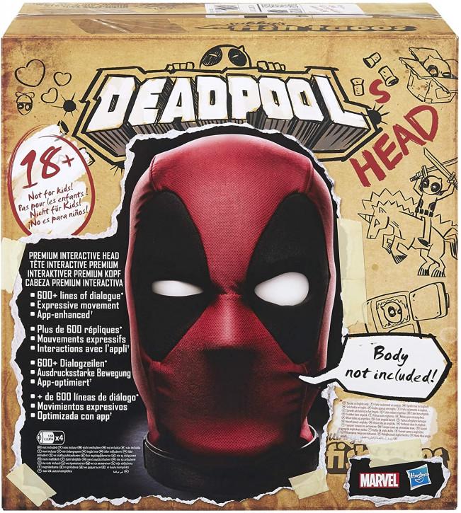 Marvel Legends - Deadpools Interaktiver Premium Kopf