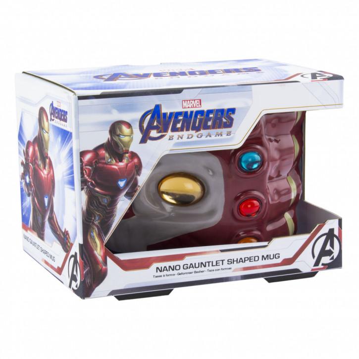 3D Becher - Marvel: Avengers Endgame - Nano Handschuh