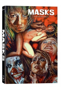 Masks - Limited Mediabook Edition - Cover B [Blu-ray+DVD]