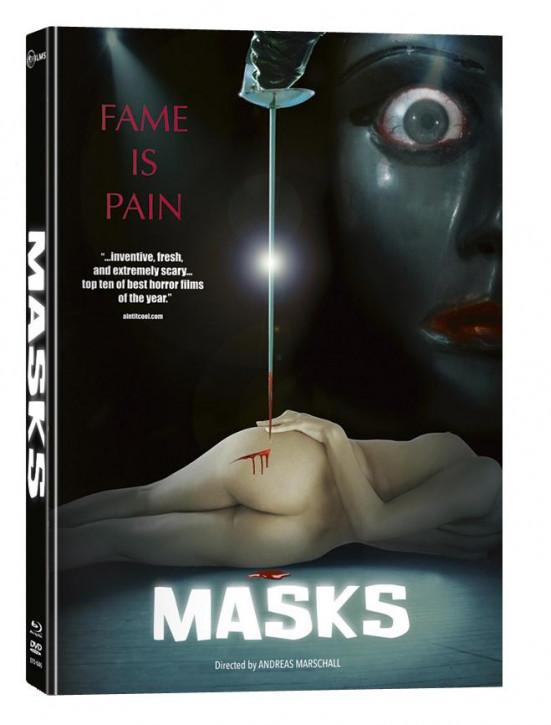 Masks - Limited Mediabook Edition [Blu-ray+DVD]