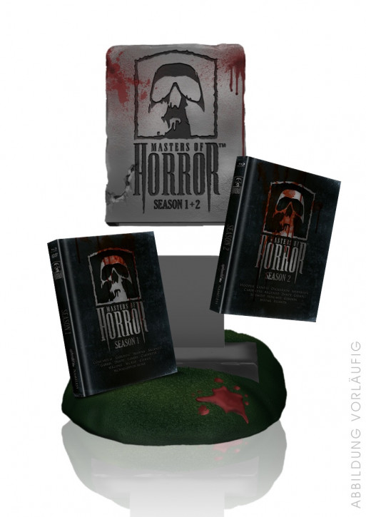 Master of Horror Staffel 1 & 2 - Special Edition inkl. Büste [Blu-ray]