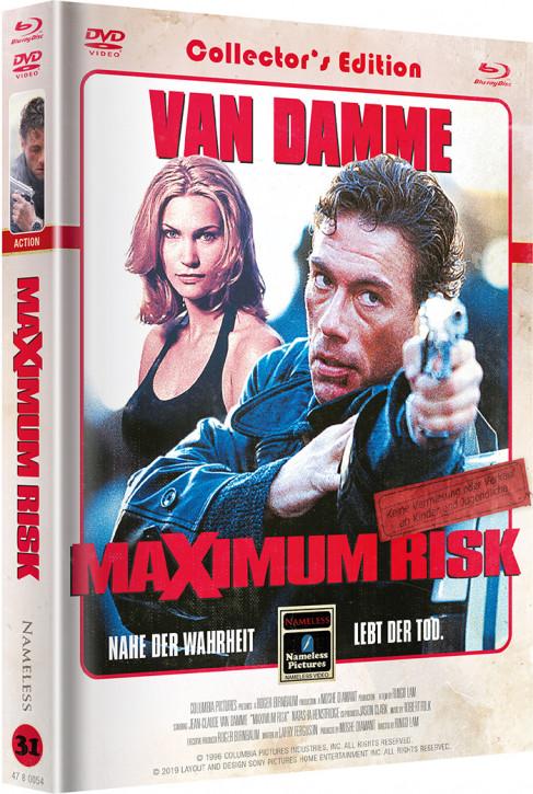 Maximum Risk - Limited Mediabook Edition - Cover B [Blu-ray+DVD]