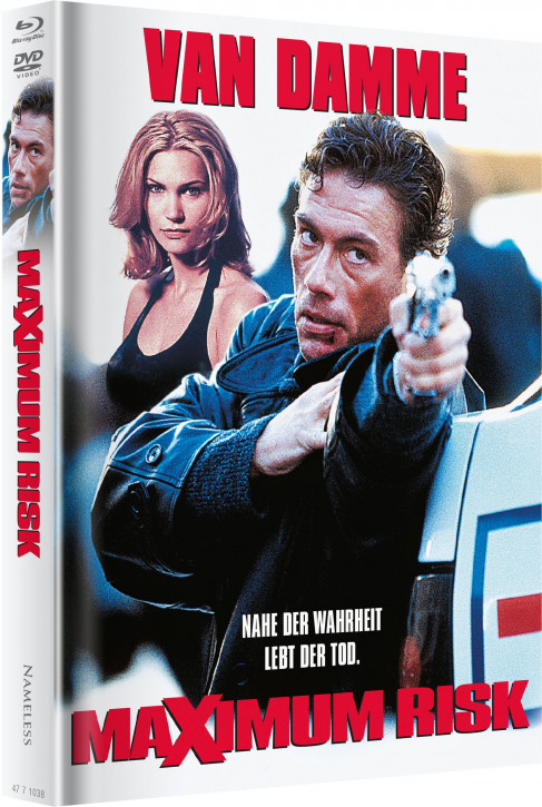 Maximum-Risk - Limited Mediabook - Cover F [Blu-ray+DVD]