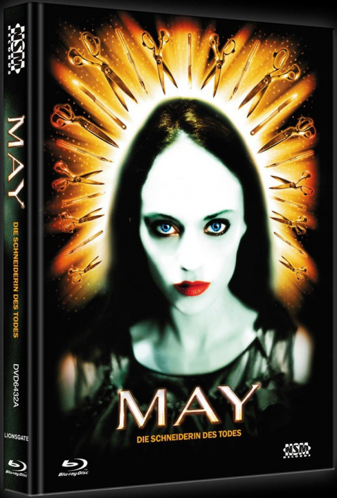 May - Die Schneiderin des Todes - Limited Collector's Edition - Cover A [Blu-ray+DVD]