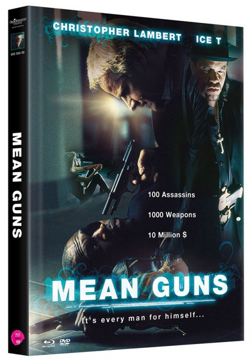 Mean Guns - Mediabook - Cover B [Blu-ray+DVD]