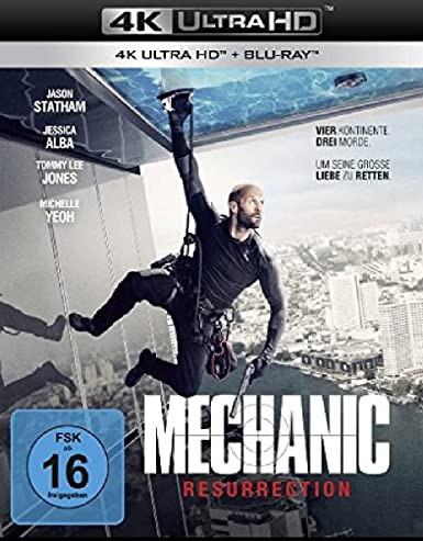 Mechanic: Resurrection [4K UHD+Blu-ray]