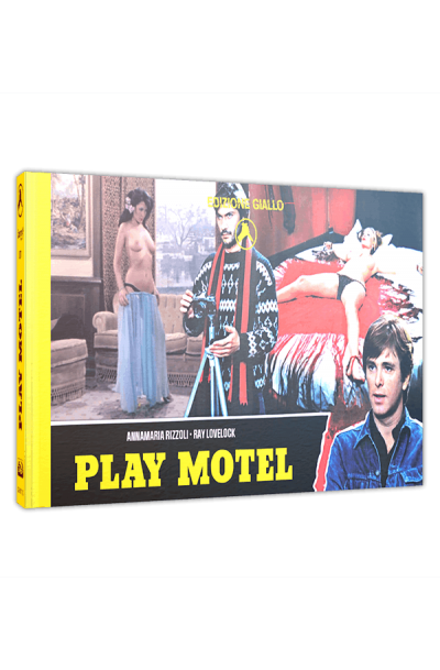 Play Motel (Sleaze Giallo) - Limited Cinestrange Extreme Edition - Cover Q [Blu-ray+DVD]