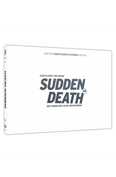 Sudden Death - Limited Cinestrange Extreme Edition - Cover Q [Blu-ray+DVD]