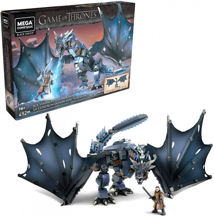 Mega Construx GMN74 - Game of Thrones - Eis-Viserion Showdown