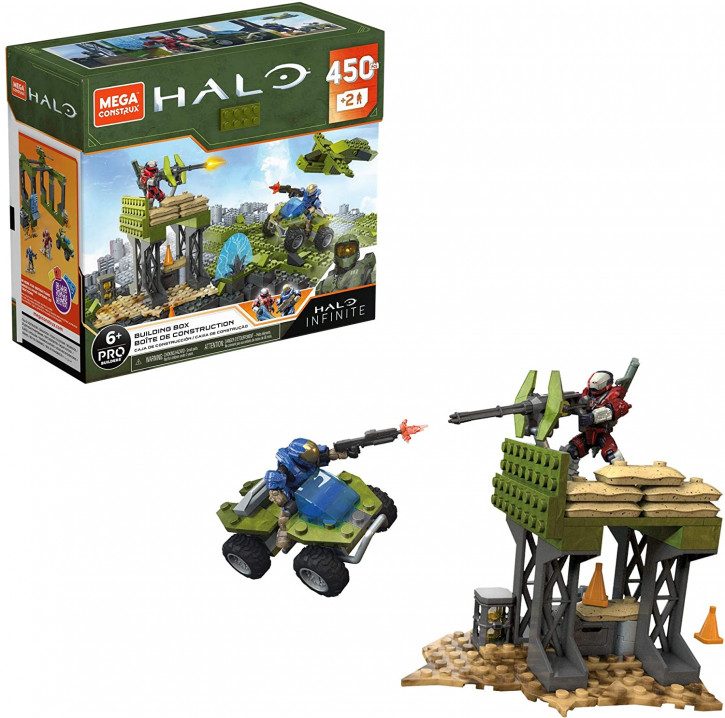 Mega Construx GPT03 - Halo - Building Box