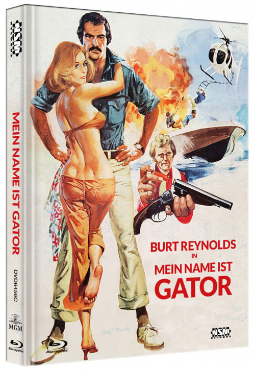 Mein Name ist Gator - Limited Collector's Edition - Cover C [Blu-ray+DVD]