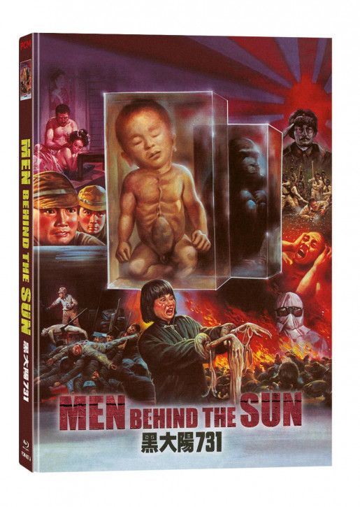 Men behind the Sun - Limited Mediabook Edition [Blu-ray+DVD]