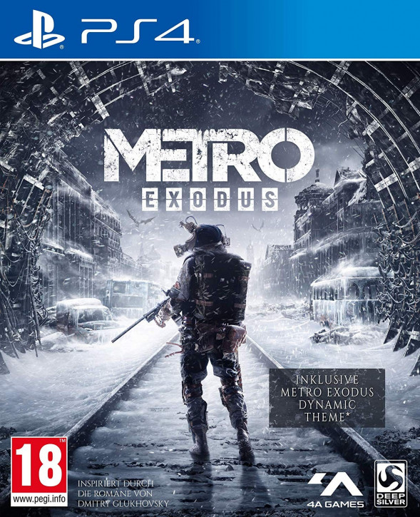 Metro Exodus (AT-Pegi) [PS4]