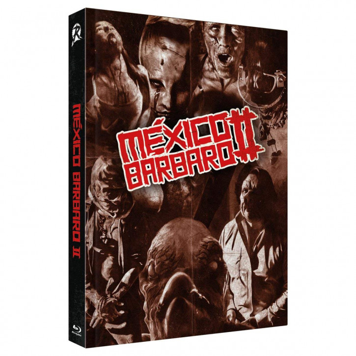 Mexico Barbaro 2 - Limited Collectors Edition Mediabook - Cover A [Blu-ray+DVD]