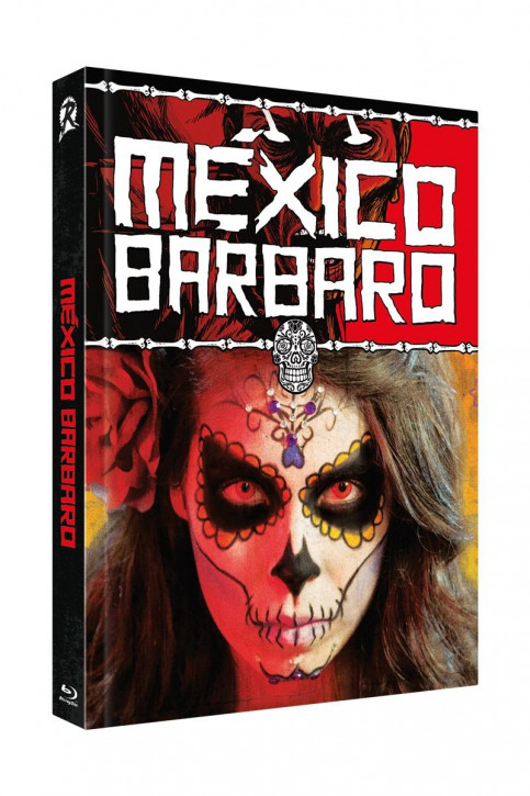 Mexico Barbaro- Limited Collectors Edition Mediabook - Cover B [Blu-ray+DVD]