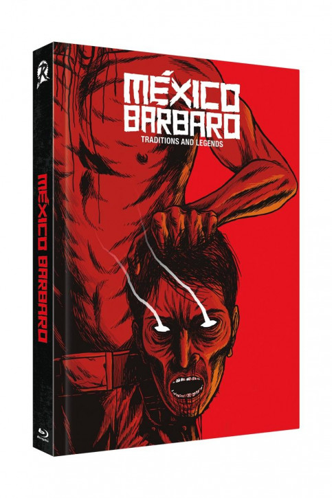 Mexico Barbaro- Limited Collectors Edition Mediabook - Cover D [Blu-ray+DVD]