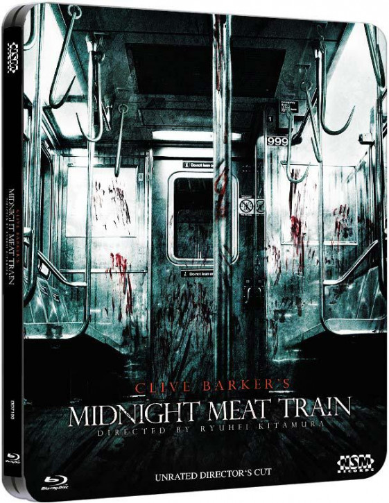 Midnight Meat Train (Unrated Directors Cut) - Steelbook [Blu-ray]
